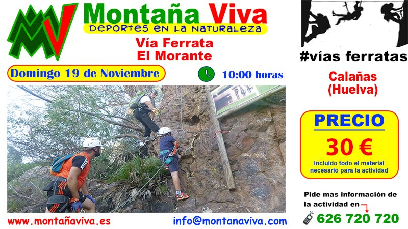 Via Ferrata El Morante